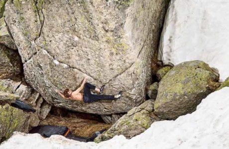 Giuliano Cameroni flying high: first ascent Hazel Grace (8c / 8c +)