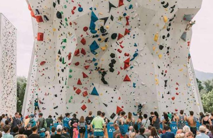 Kletterelite in Innsbruck vereint: IFSC Austria Climbing Open 2021