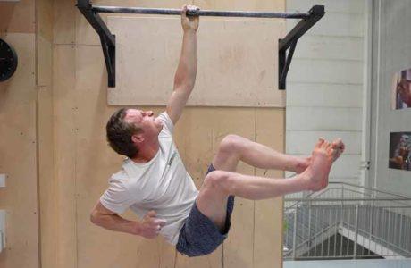 Pete Whittaker: One Arm Hang Weltrekord