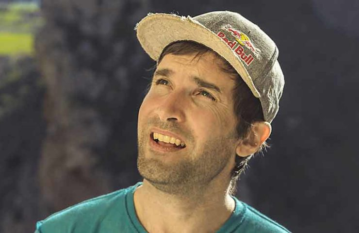 When Chris Sharma was still climbing competitions - and was accused of doping