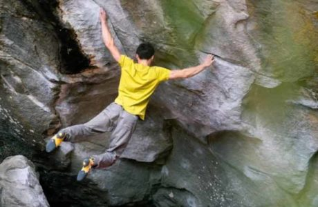 Boulderparadies Magic Wood - Video mit Marco Müller
