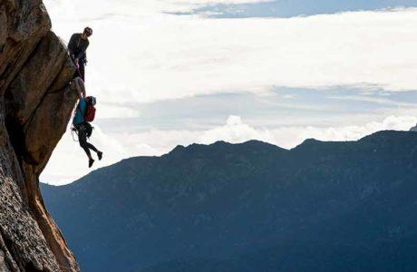 Film New Life: When a climbing couple has children