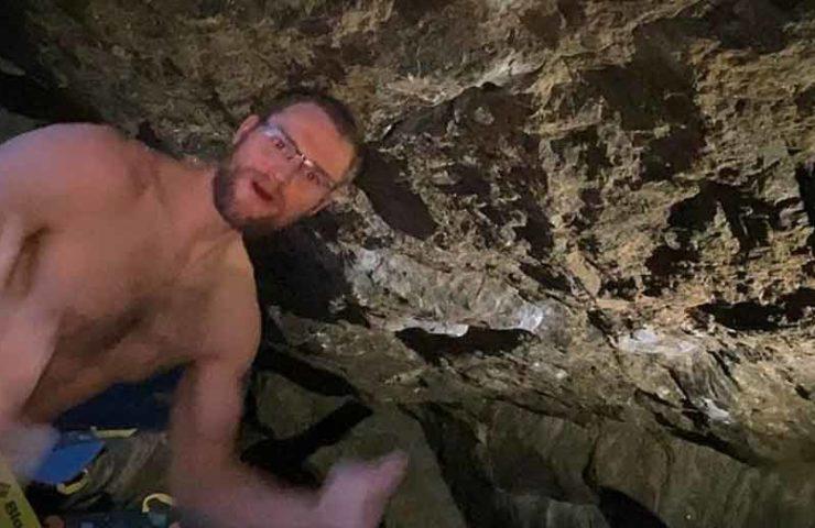 Matt Fultz in 8c / + boulder fever: Grand Illusion & Co climbed