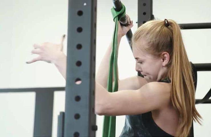 Pull-up Training mit Athletin Hannah Meul