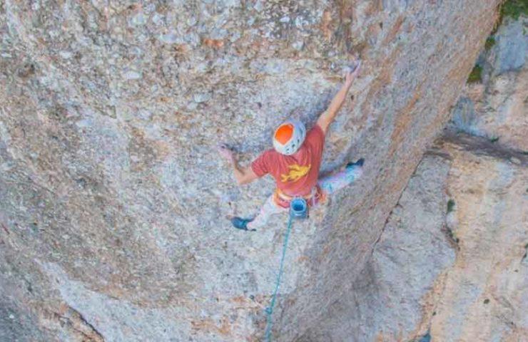 Sébastien Berthe scores Arco Iris (8c +, 200m)