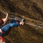 Babsi Zangerl on one of the toughest trad routes in Europe: Greenspit