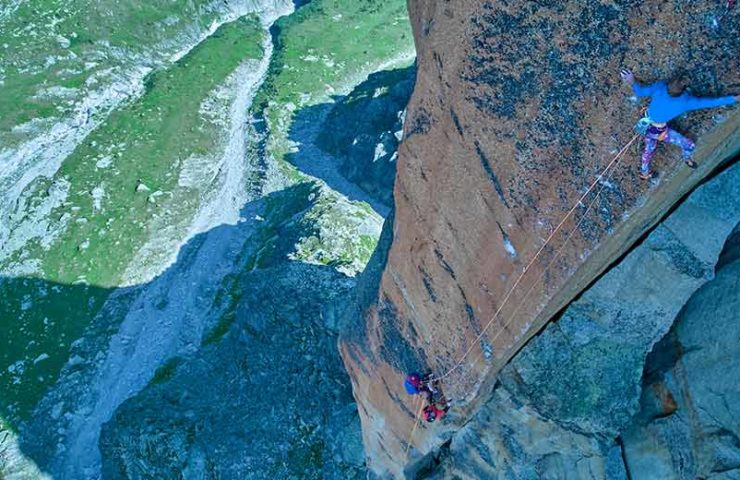 First free ascent of the route Histoire sans Fin by Seb Berthe and Siebe Vanhee