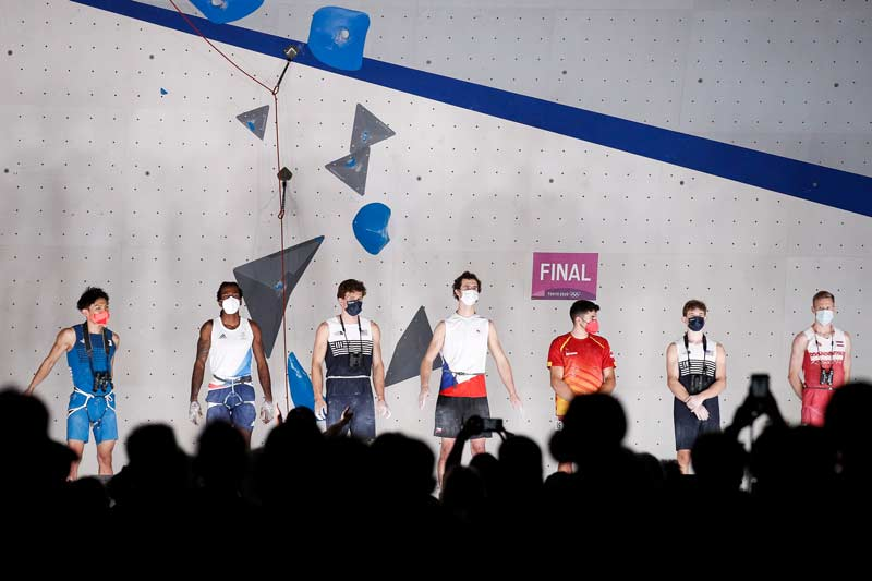 Participants in the finals of the Summer Olympics. (Image Dimitris Tosidis / IFSC)