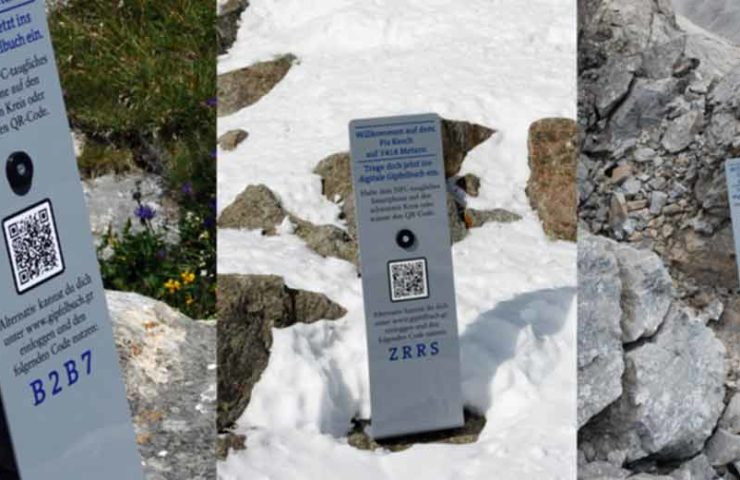 Summit dispute broke out in the Alps: 150 billboards installed