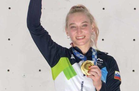 Janja Garnbret gewinnt Olympia-Gold im Sportklettern