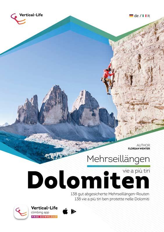 Mehrseillängen-Kletterführer Dolomiten.