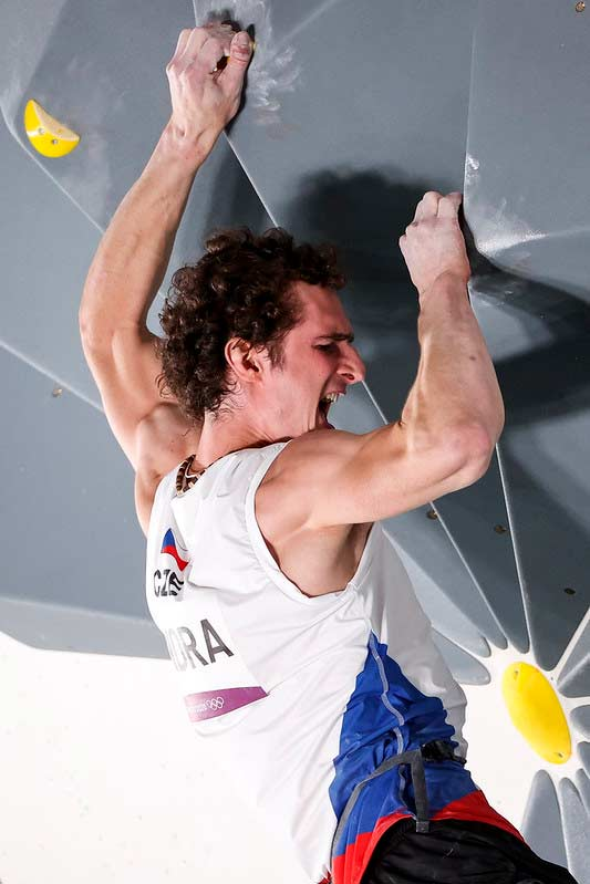 Adam Ondra's performance in the boulder final was only mediocre. (Image Dimitris Tosidis / IFSC)