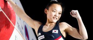 Jakob Schubert und Seo Chaehyun sind Leadweltmeister 2021