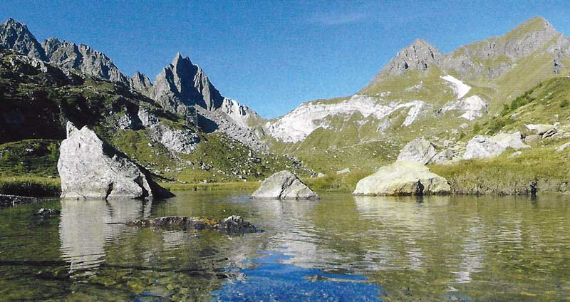 Der imposante Gipfel des Pizzo del Prévat. (Bild Verlag Filidor)