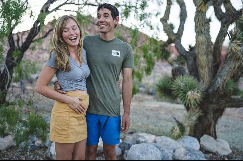 Alex Honnold und Sanni McCandless Honnold werden Eltern