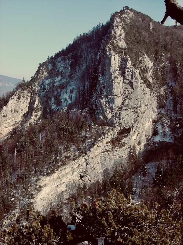 Die Roche des Nants in der Gorge du Court. (Bild Nicolas Zambetti)
