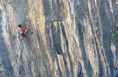 Jonathan Siegrist repeats Lapsus (9b) with Andonno